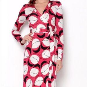 Diane von Furstenburg New Jeanne Two Wrap Dress